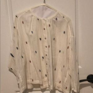 Blouse from Anthropologie